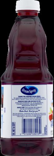 Ocean Spray 100% Cranberry Pomegranate Juice Perspective: bottom