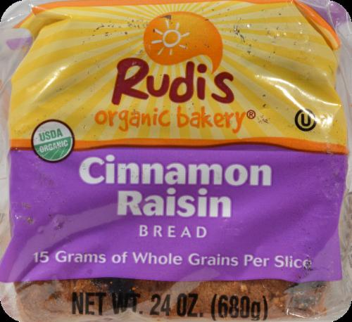 Rudi's Organic Bakery® Organic Cinnamon Raisin Bread Perspective: bottom