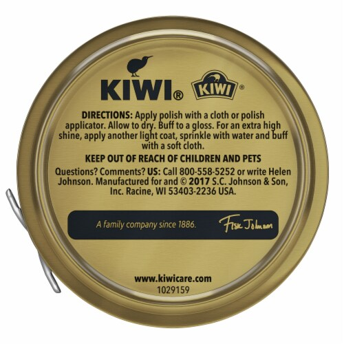 Kiwi® Shoe Polish - Tan Perspective: bottom