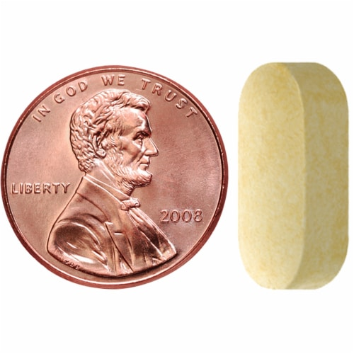 Nature Made Vitamin C Tablets 1000mg Perspective: bottom