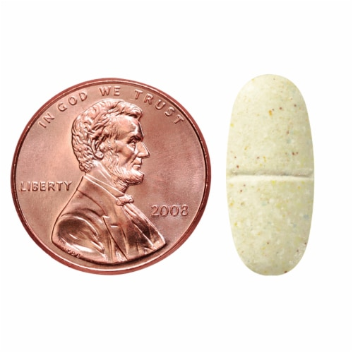 Nature Made® Multivitamin for Her 50+ Dietary Supplement Tablets Perspective: bottom