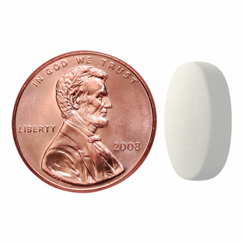 Nature Made Calcium Magnesium Zinc Tablets Perspective: bottom
