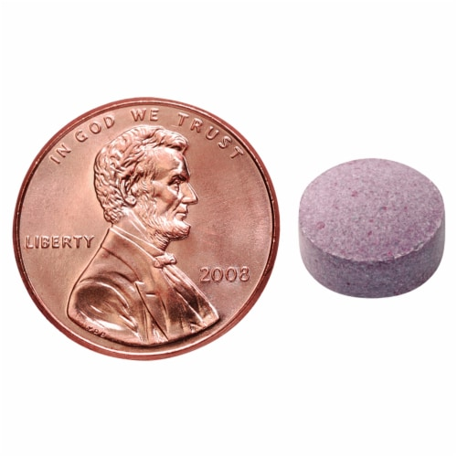Nature Made Vitamin D3 1000 IU Grape Flavor Chewable Tablets Perspective: bottom