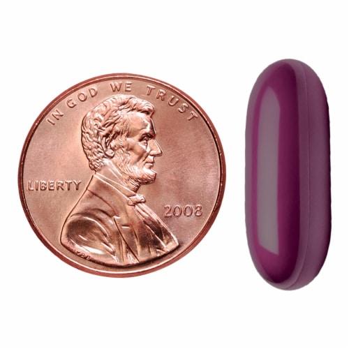 Nature Made® Melatonin + 200mg L-Theanine Softgels 3mg Perspective: bottom