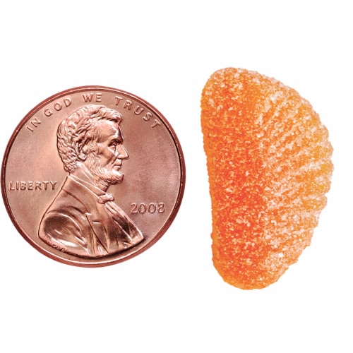 Nature Made® Vitamin C Tangerine Flavored Adult Gummies 250mg Perspective: bottom