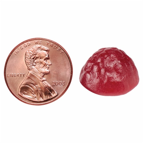 Nature Made Raspberry & Cherry Flavored Digestive Probiotic + Energy B12 Adult Gummies Perspective: bottom