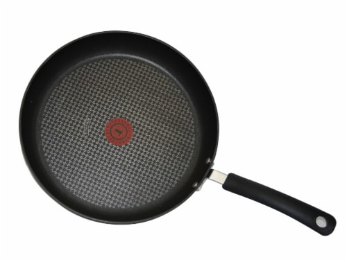 T-Fal Ultimate Hard Anodized Black Saute Pan Perspective: bottom