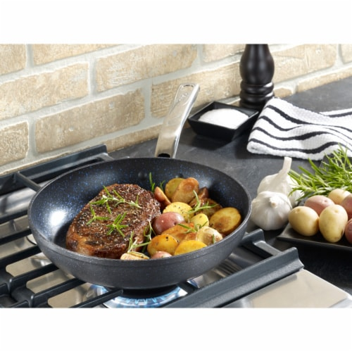 T-fal Non-stick Fry Pan - Black Perspective: bottom