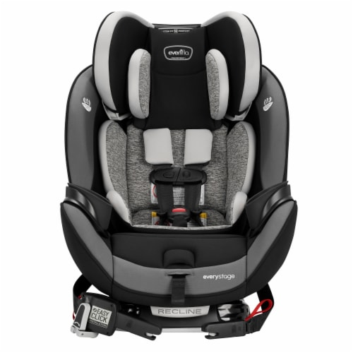 Evenflo EveryStage DLX All-in-One Kids Rear Facing Convertible Car Seat, Canyons Perspective: bottom