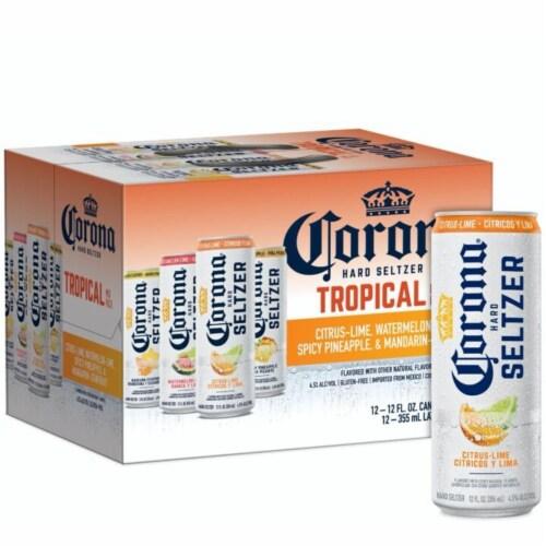 Corona® Hard Seltzer Variety Pack Perspective: bottom
