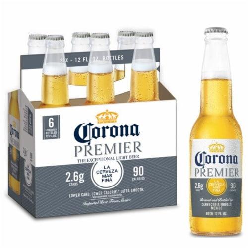 Corona Premier Lager Beer Perspective: bottom