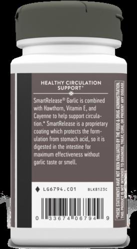 Nature's Way Garlicin Healthy Circulation Formula Tablets Perspective: bottom
