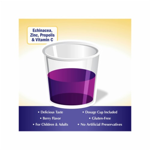 Nature's Way Sambucus Elderberry Immune Syrup Perspective: bottom