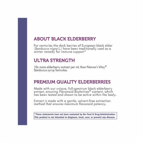 Nature's Way Sambucus Ultra-Strength Elderberry Drops Perspective: bottom