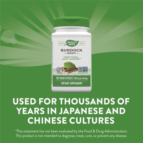 Nature's Way® Burdock Root Vegan Capsules 475mg Perspective: bottom