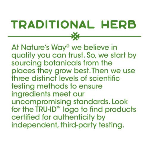 Nature's Way Eyebright Herb Capsules 860 mg Perspective: bottom