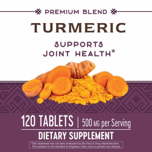 Nature's Way Turmeric Tablets Perspective: bottom