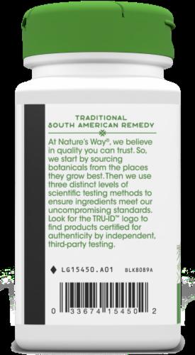 Nature's Way® Pau D'arco Inner Bark Capsules 545 mg Perspective: bottom