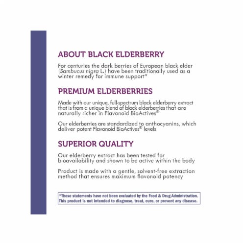 Nature's Way Sambucus Elderberry Syrup Perspective: bottom