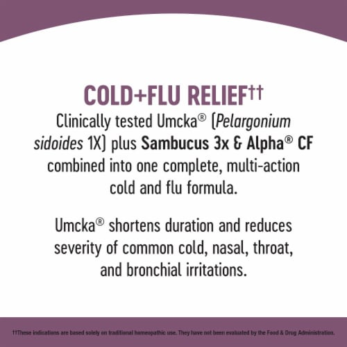 Nature's Way Umcka Elderberry Intensive Cold & Flu Soothing Syrup Perspective: bottom