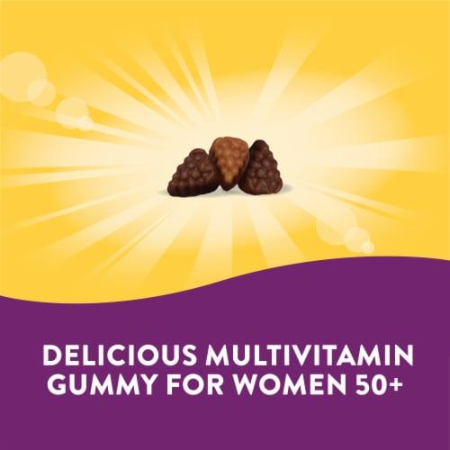 Nature's Way Alive Women's 50+ Orchard Fruits & Garden Veggies Gummy Vitamins Perspective: bottom