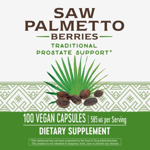 Nature's Way Saw Palmetto Berries Capsules Perspective: bottom