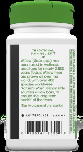 Nature's Way® White Willow Bark Capsules 400 mg Perspective: bottom