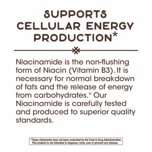 Nature's Way Niacinamide Non-Flushing Capsules Perspective: bottom