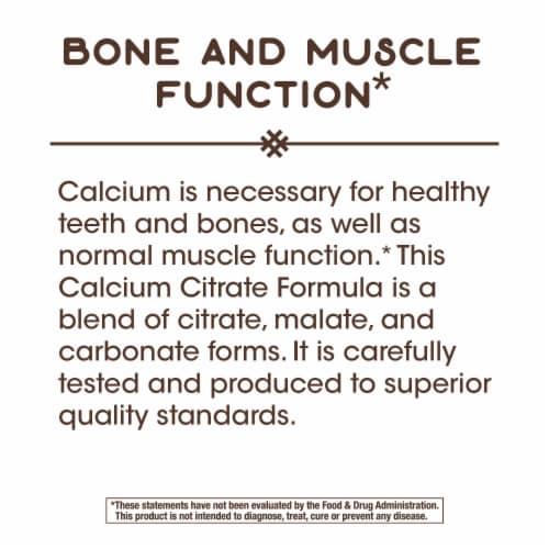 Nature's Way Calcium Citrate Vitamins Capsules Perspective: bottom
