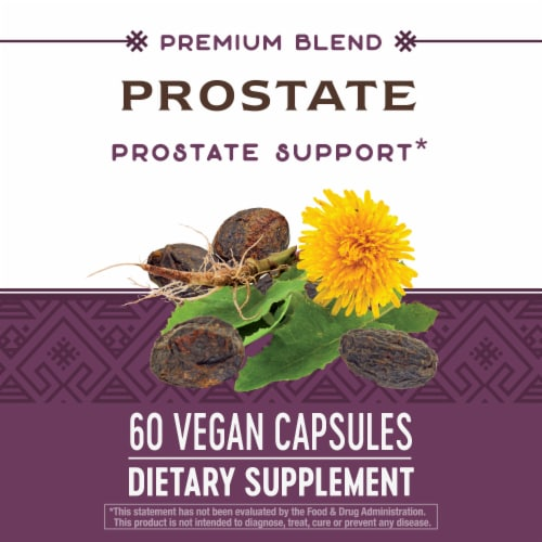 Nature's Way Prostate Supplement Capsules 327 mg Perspective: bottom