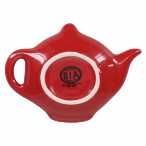 BIA Cordon Bleu Teabag Rest Set - Spice Red Perspective: bottom