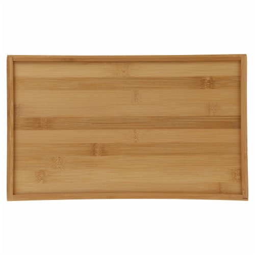 Danesco Bamboo Bread Cutting Board with Crumb Catcher Perspective: bottom
