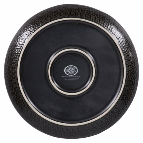 BIA Cordon Bleu Serene Salad Plate Set - Black Perspective: bottom