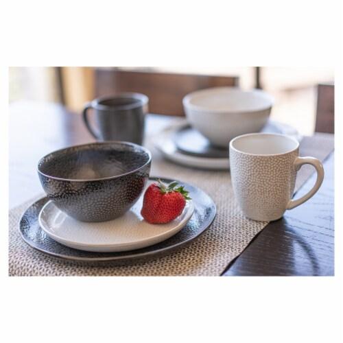 BIA Cordon Bleu Serene Cereal Bowls Set - Black Perspective: bottom