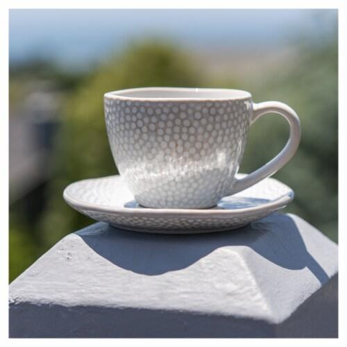 BIA Cordon Bleu Serene Demitasse Cup and Saucer Set - Crème Perspective: bottom