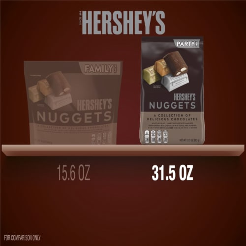Hershey's Nuggets Chocolate Candy Assortment Party Pack Perspective: bottom