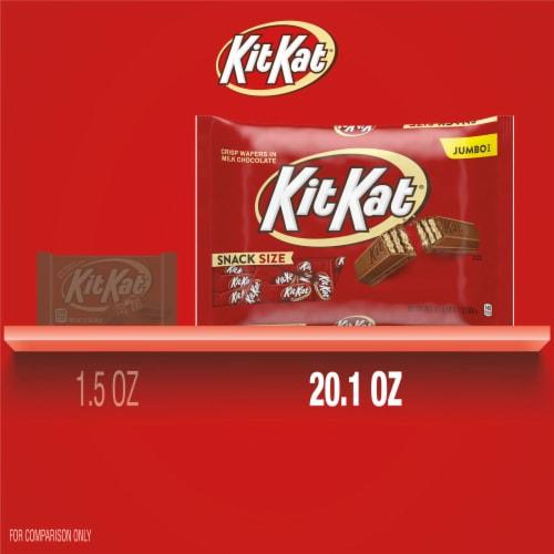 Kit Kat® Snack Size Crisp Wafer Bars in Milk Chocolate Perspective: bottom