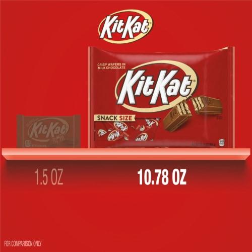 KIT KAT® Snack Size Wafer Bars Perspective: bottom