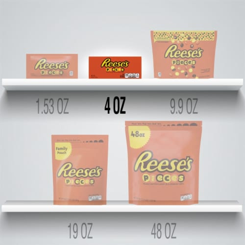 Reese's Pieces Peanut Butter Candy Big Box Perspective: bottom