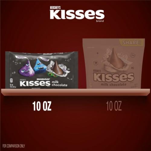 Hershey's Milk Chocolate Kisses Monster Halloween Candy Perspective: bottom