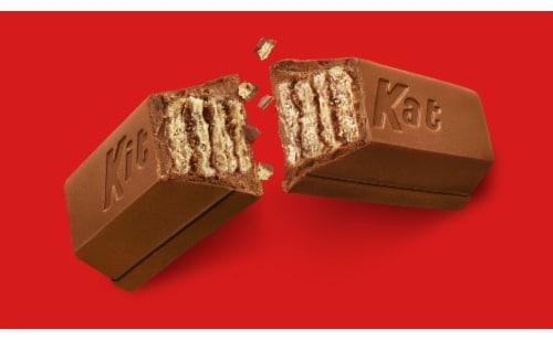 Kit Kat Miniatures Milk Chocolate Candy Perspective: bottom