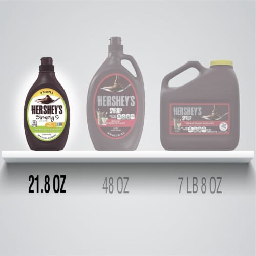 Hershey's Simply 5 Chocolate Syrup Perspective: bottom