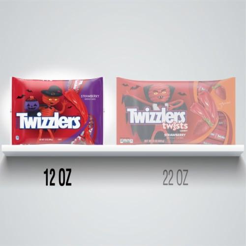 Twizzlers Strawberry Snack Size Twists Perspective: bottom