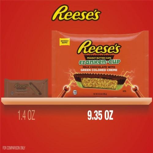 Reese's Frankenstein Snack Size Regular Peanut Butter Cups Perspective: bottom