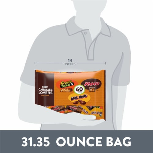 Hershey Caramel Lovers Snack Size Variety Pack Perspective: bottom