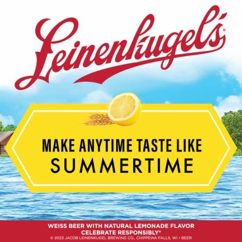 Leinenkugel's Summer Shandy Weiss Beer Perspective: bottom