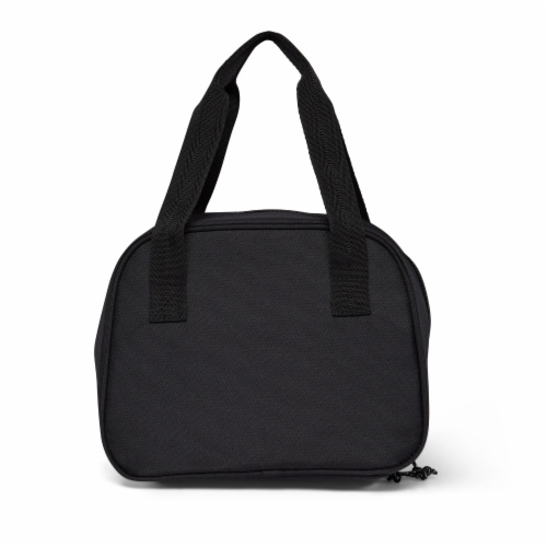 Igloo REPREVE Insulated 12 Can Soft Lily Lunch Bag Cooler with Handles, Black Perspective: bottom