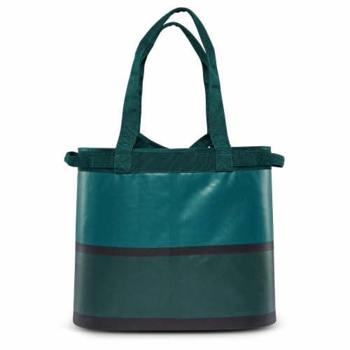 Igloo Reactor Portable 56 Can Soft Sided Insulated Cinch Cooler Tote Bag, Teal Perspective: bottom