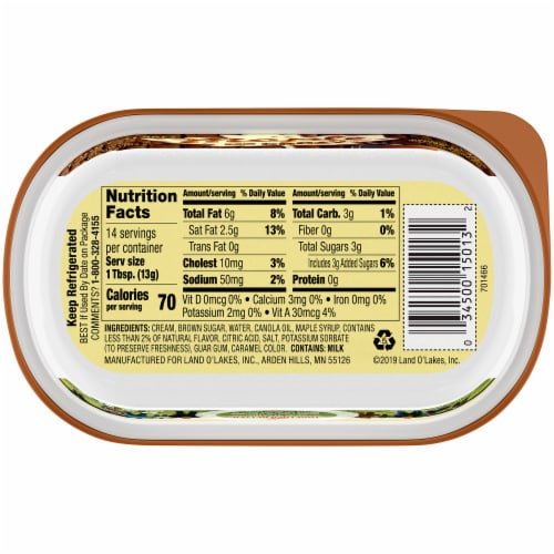 Land O' Lakes® Maple Me Crazy Maple Brown Sugar Butter Spread Perspective: bottom