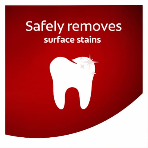 Colgate Optic White Stain Fighter Fresh Mint Gel Teeth Whitening Toothpaste Perspective: bottom
